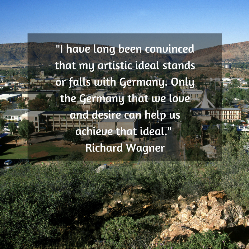 I have long been convinced that my artistic ideal stands or falls with Germany. Only the Germany that we love and desire can help us achieve that ideal.- Richard Wagner.png