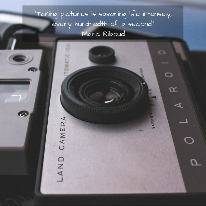 Taking pictures is savoring life intensely, every hundredth of a second.Marc Riboud.png